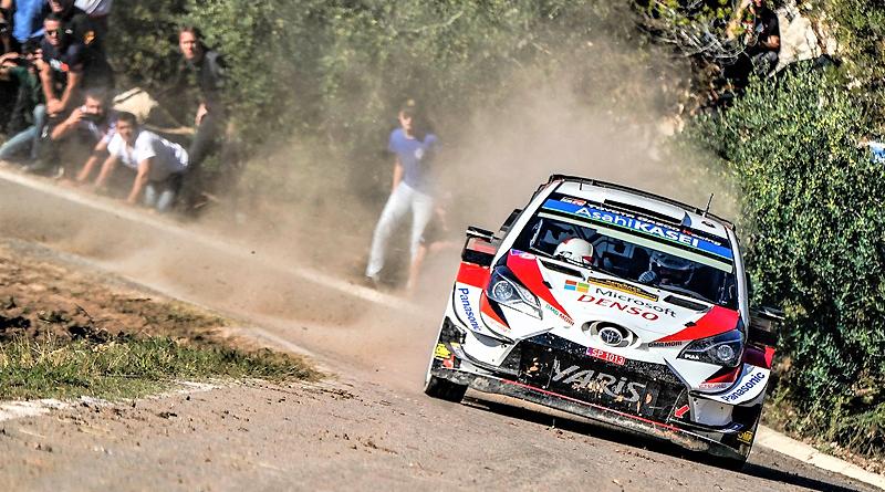 Ott Tänak logra el título del WRC en el Rally de España