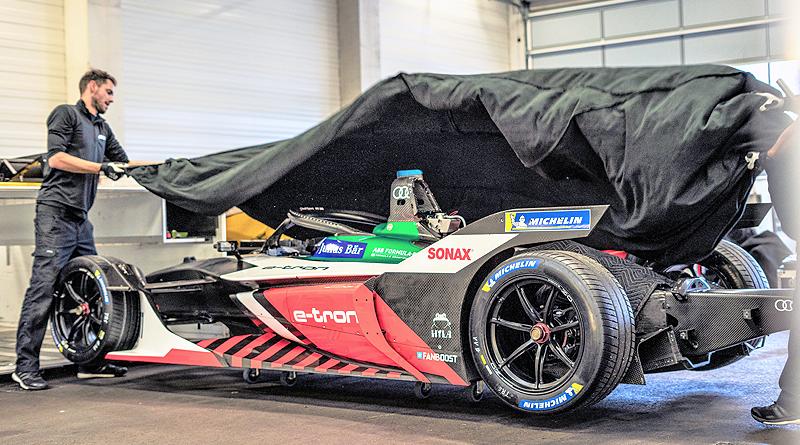 Los Audi e-tron FE06 listos para la nueva temporada de la Fórmula E