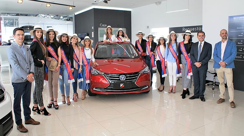 12 jóvenes quiteñas están listas para pilotear #ElAutoDeLaReina