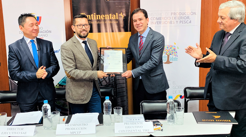 Laboratorio de Continental recibe Certificado de Acreditación