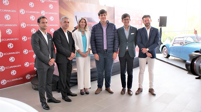 MG, legendaria marca británica, llega a Ecuador de la mano de EcuaWagen