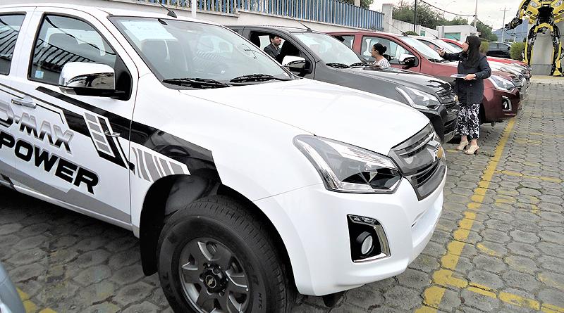 Chevrolet presenta la nueva DMax High Power hecha en Ecuador
