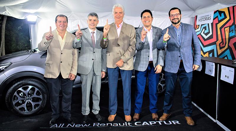 El totalmente nuevo Renault Captur en su fiesta de lanzamiento