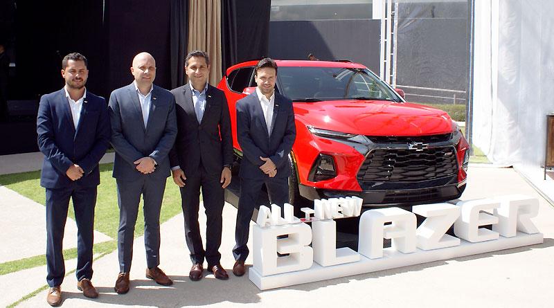 Llega a Ecuador la versátil y deportiva Chevrolet Blazer RS 3.6L