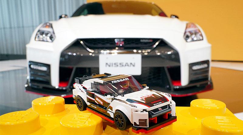LEGO® da vida al emblemático Nissan GT-R Nismo en bloques