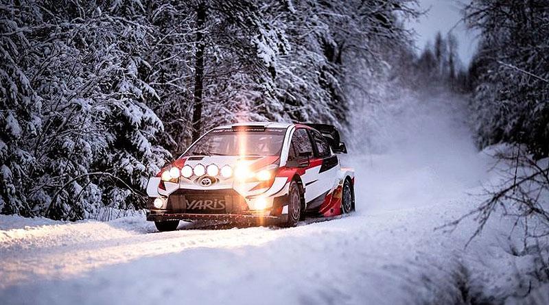 WRC: Toyota Gazoo Racing inicia pruebas de invierno en Suecia