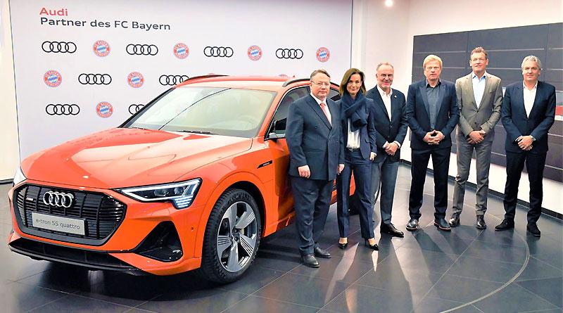 Audi y el FC Bayern de Múnich van juntos hacia el futuro