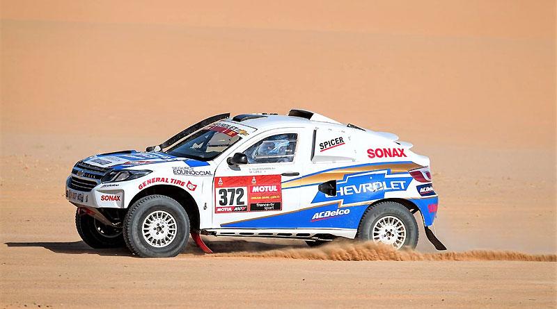 Equipo Chevrolet Dakar 2020 completa la octava etapa
