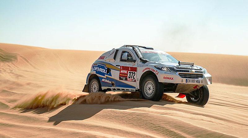 Guayasamín se mantiene firme en el desierto saudí tras la etapa 9