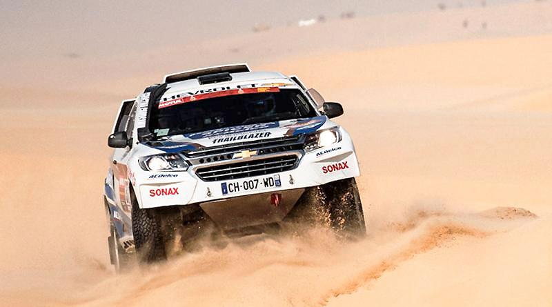 El equipo Chevrolet Dakar gana posiciones en la décima etapa