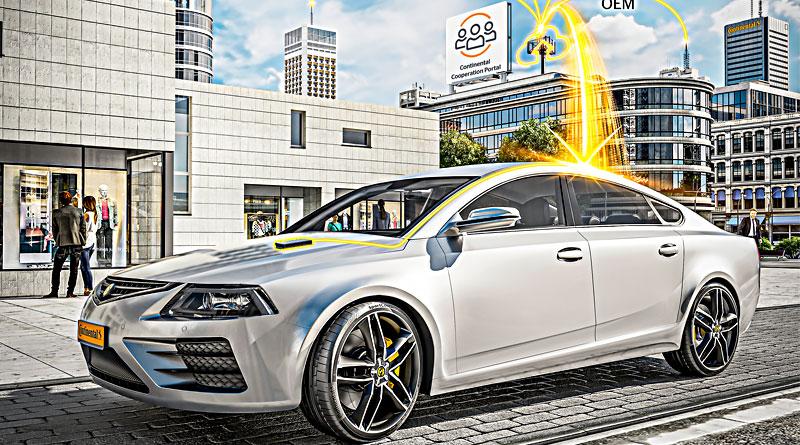 Software de Continental para arquitectura de vehículos inteligentes