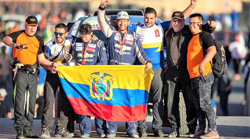 Equipo Chevrolet finaliza el Rally Dakar 2020 en el puesto 44