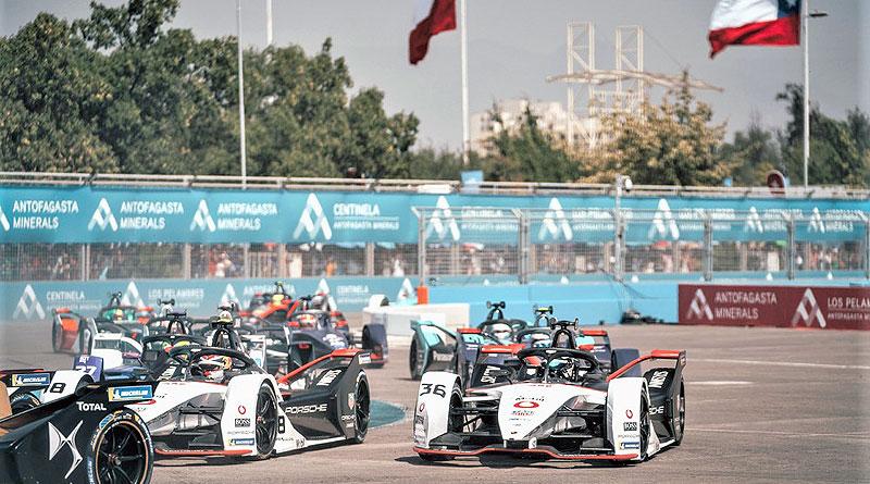 Fórmula E: Mala suerte para Equipo TAG Heuer Porsche en Chile