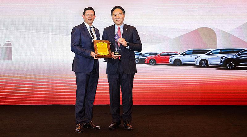 """GAC Motor Ecuador recibe premio a """"Mejor gestión en Posventa"""""""