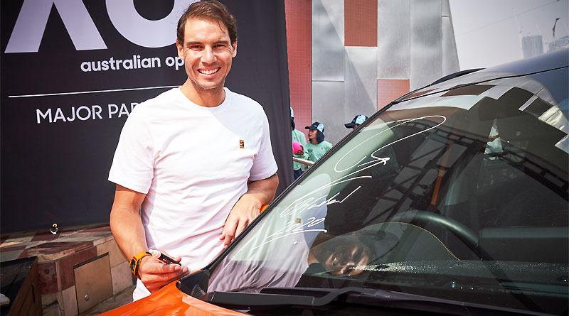 Kia Motors y Rafael Nadal aliados en el Abierto de Australia 2020