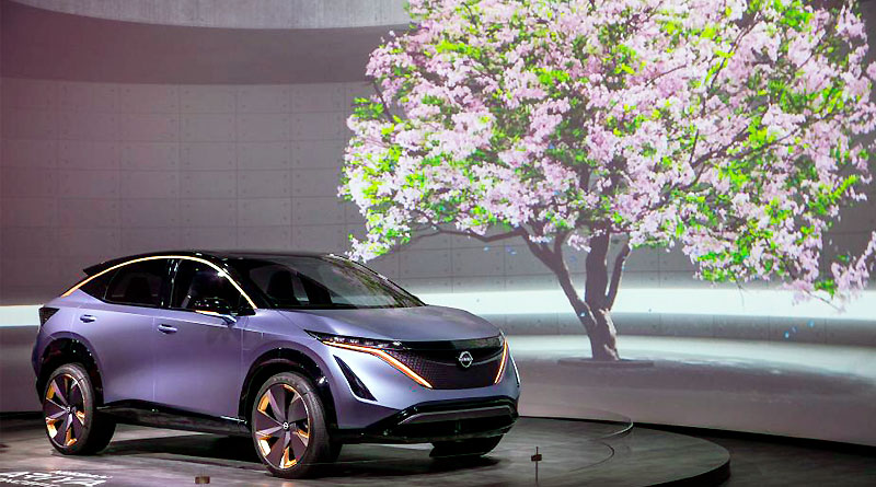 Nissan Ariya Concept llevó la hospitalidad japonesa al CES