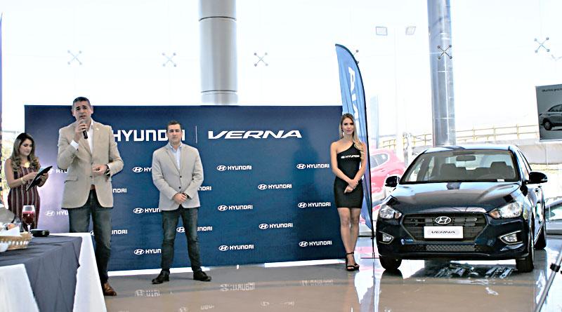 Hyundai Verna es el nuevo sedán de la marca coreana para Ecuador