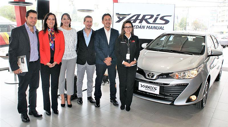Toyota del Ecuador presentó su nuevo Yaris Sedán con caja Manual