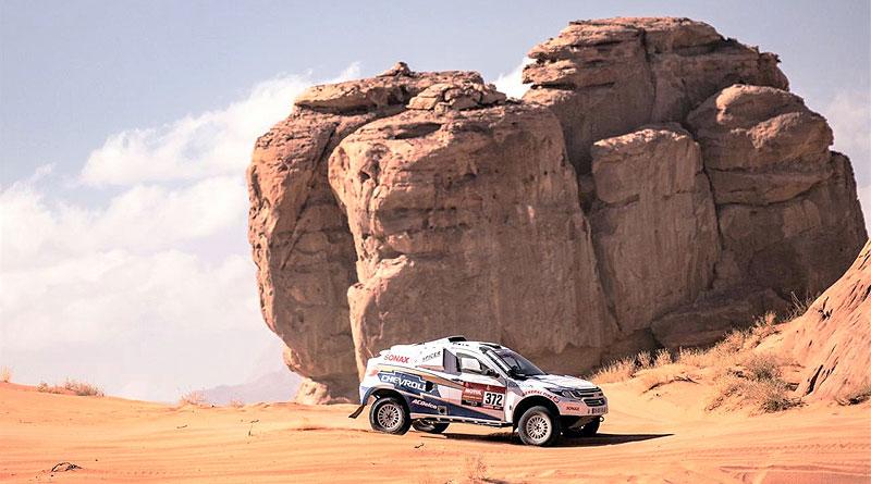 Sebastián Guayasamín se recupera en la 3ra etapa del Dakar