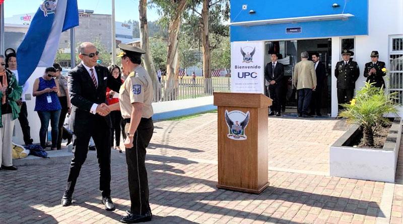 Kia Motors entregó en Quito UPC remodelada a la Policía Nacional