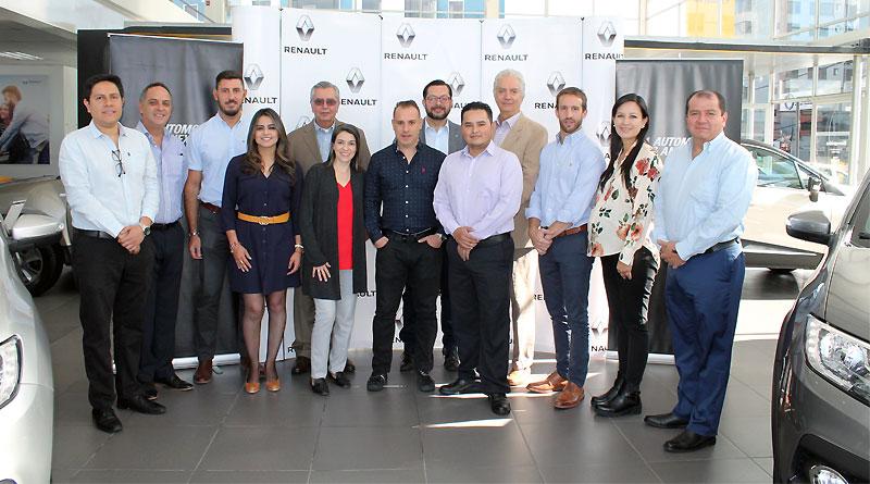 Ejecutivos internacionales de Renault visitaron Quito y Guayaquil