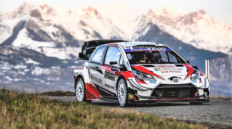 WRC: Sébastien Ogier lidera el Shakedown del Rally de Montecarlo