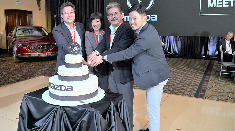 Centenario de existencia de Mazda se festejó en Ecuador