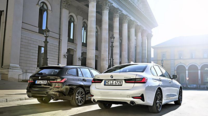 BMW amplía gama electrificada con el nuevo BMW 330e xDrive Touring