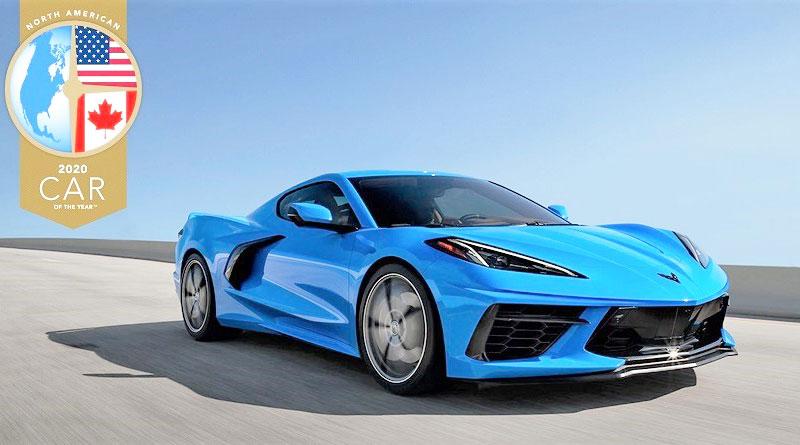 Nuevo Chevrolet Corvette elegido Auto del Año de Norteamérica