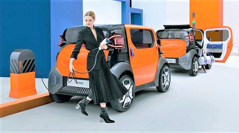 Citroën AMI One, una nueva visión accesible de la movilidad urbana