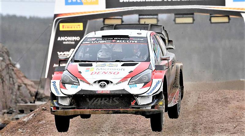 WRC: Evans logra una magistral victoria en el Rally de Suecia