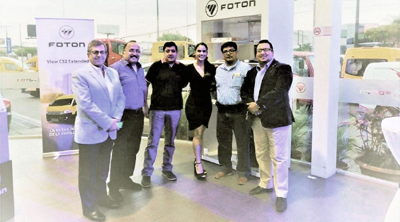 Foton presentó en Guayaquil su nueva VAN View CS2 Extended