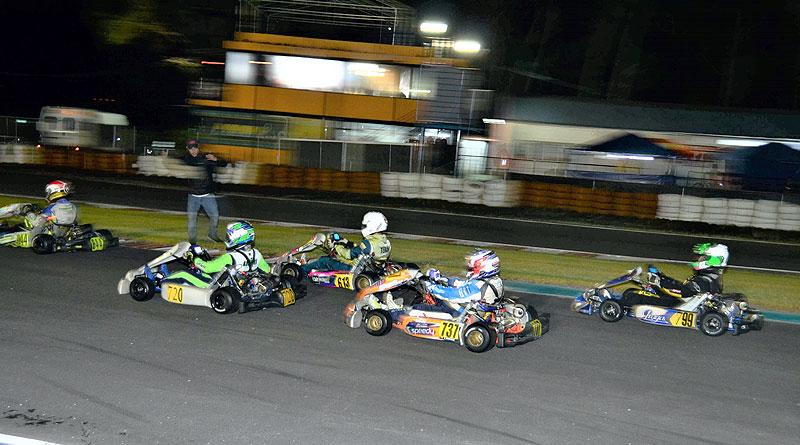 En carrera nocturna concluyó 3ra válida de la Rok Cup Ecuador 2020