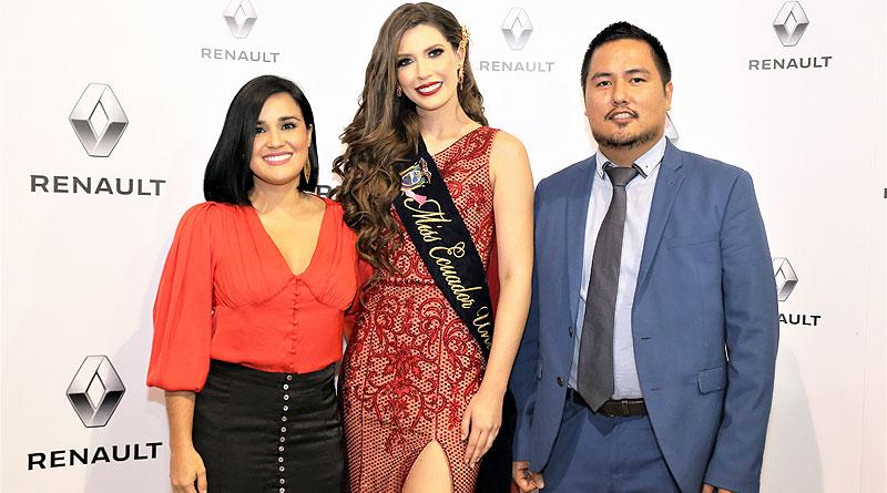 Renault, auspiciante oficial de la elección de Miss Ecuador por 11 años