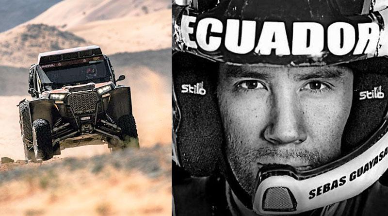 Sebastián Guayasamín competirá en el Mundial de Rally Cross Country