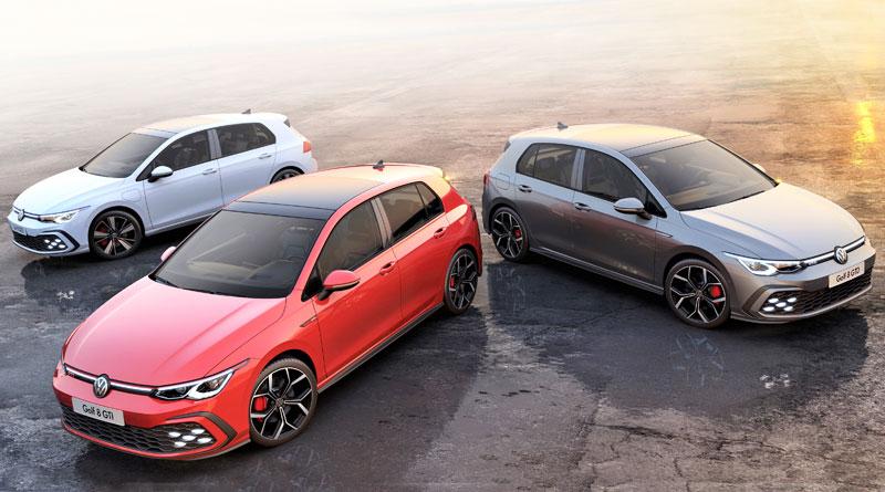 Golf GTI, GTE y GTD: Los nuevos íconos digitalizados de Volkswagen