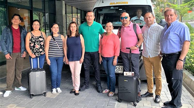 Renault Ecuador premió a ejecutivos con viaje a planta de Medellín