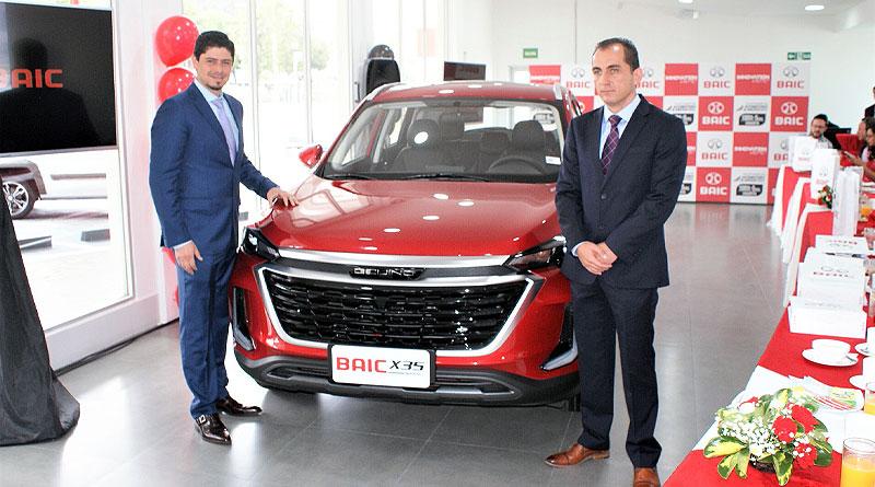 Baic lanza el nuevo X35 Senova y abre otro concesionario en Quito