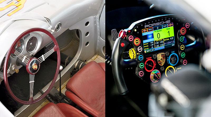 De un simple volante a un centro de control multifuncional en 20 años