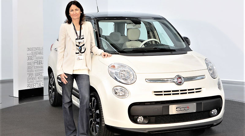 La mujer detrás de cada detalle del Fiat 500: Rossella Guasco
