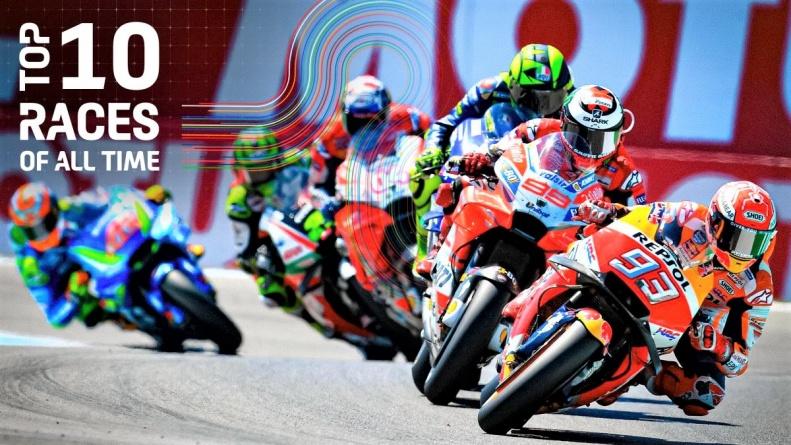 Gratis, 10 de las mejores carreras de la historia de MotoGP™