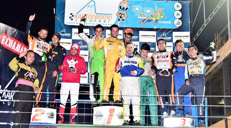 Concluyó torneo de larga duración '16 Horas Kartódromo Cotopaxi'