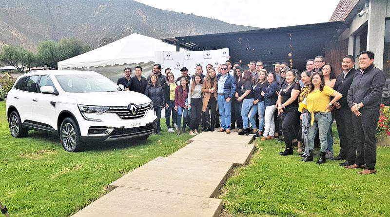 Renault capacitó a colaboradores en Quito y Guayaquil