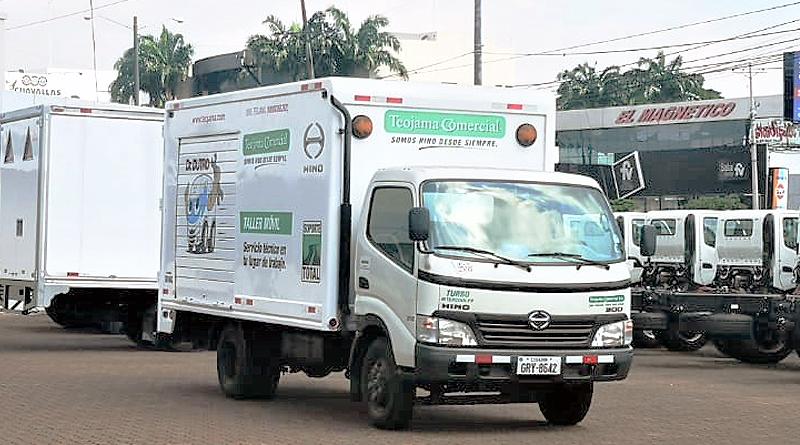 Talleres móviles para vehículos de áreas estratégicas siguen operando
