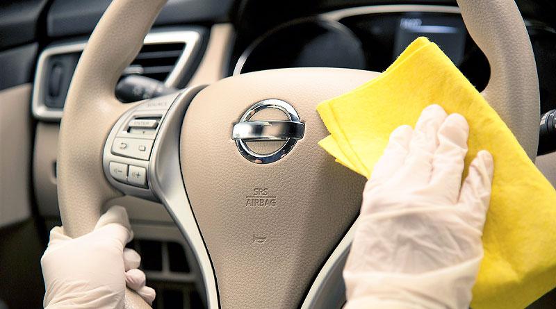 Cómo desinfectar el auto para evitar la propagación del Covid-19