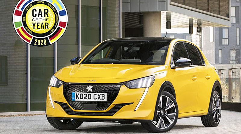 """Peugeot 208 fue elegido """"Auto del Año 2020"""" en Europa"""
