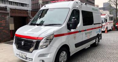 Ambulancia Nissan EV, parte de iniciativa «Cero Emisiones de Tokio»