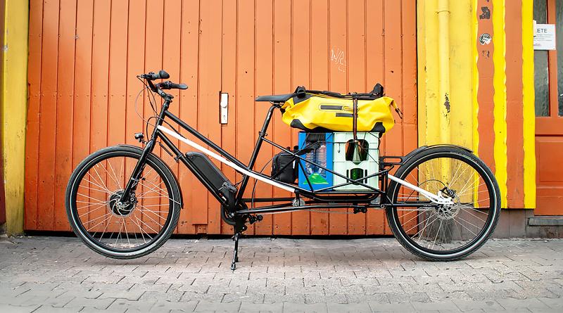 Convercycle Bike, bici eléctrica modular para trabajar y pasear