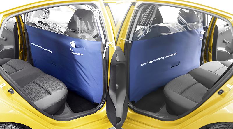 A la venta pantallas para separar a conductor y usuarios