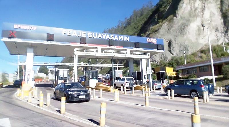 Peaje Guayasamín vuelve a funcionar el miércoles 3 de junio